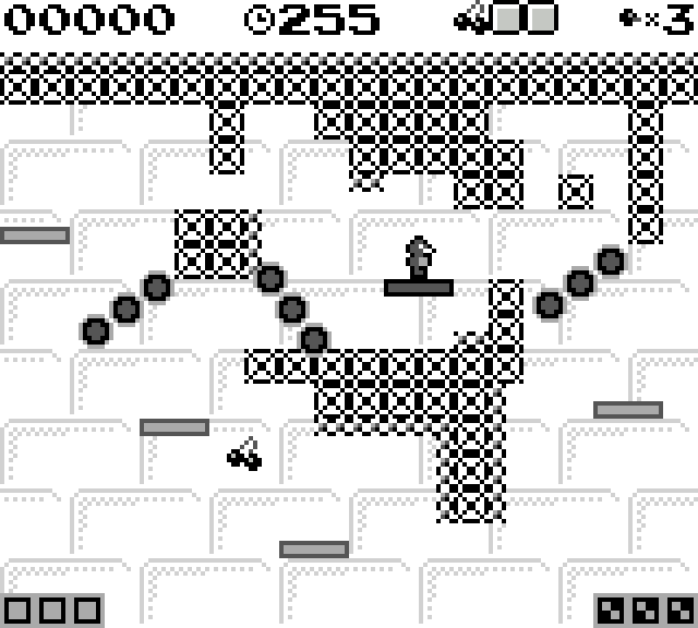 Initial Dungeon Level Layout for Gameboy